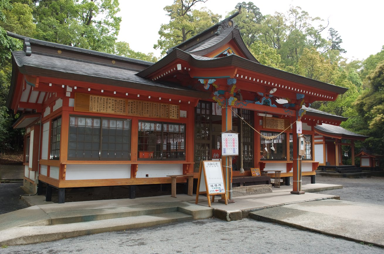 Kamouhachiman Shrine - Main Building