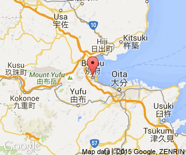 Beppu City Next Stop Japan - Japan map beppu