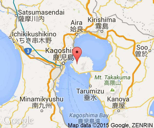 Sakurajima Next Stop Japan - Japan map kagoshima
