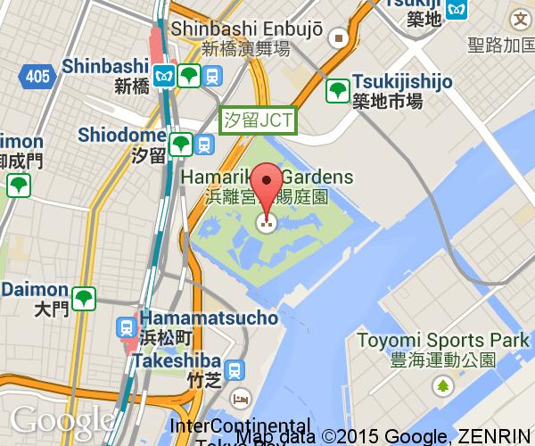 Hamarikyu Gardens Next Stop Japan